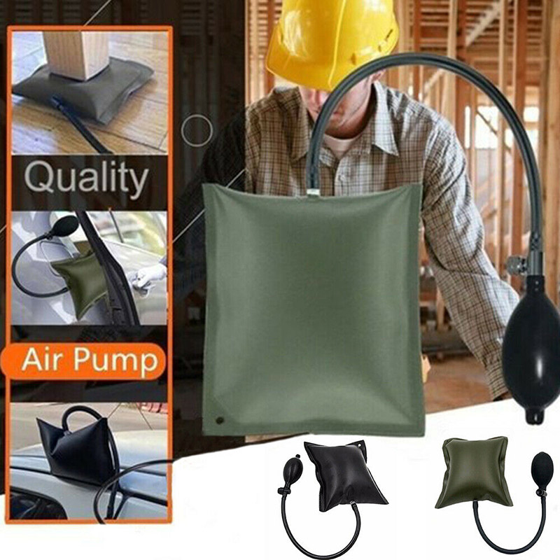 Набор инструментов для воздушного насоса, пневматический домкрат для установки дверей и окон, регулируемая воздушная подушка из алюминиев...