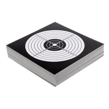100 Uds. 5,5 práctica de tiro al blanco de papel grueso ''x 5,5''/14x14 cm
