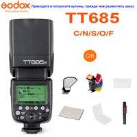 Godox TT685 TT685C TT685N TT685S TT685F TT685O TTL HSS Camera Flash Speedlite for Canon Nikon Sony Fuji Olympus Camera TT685S
