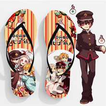 Anime Toilet-Bound Hanako-kun Slippers Nene Yashiro Summer Sandals Demon Slayer Flip Flop Ladies Slippers Women Girls Shoes(China)
