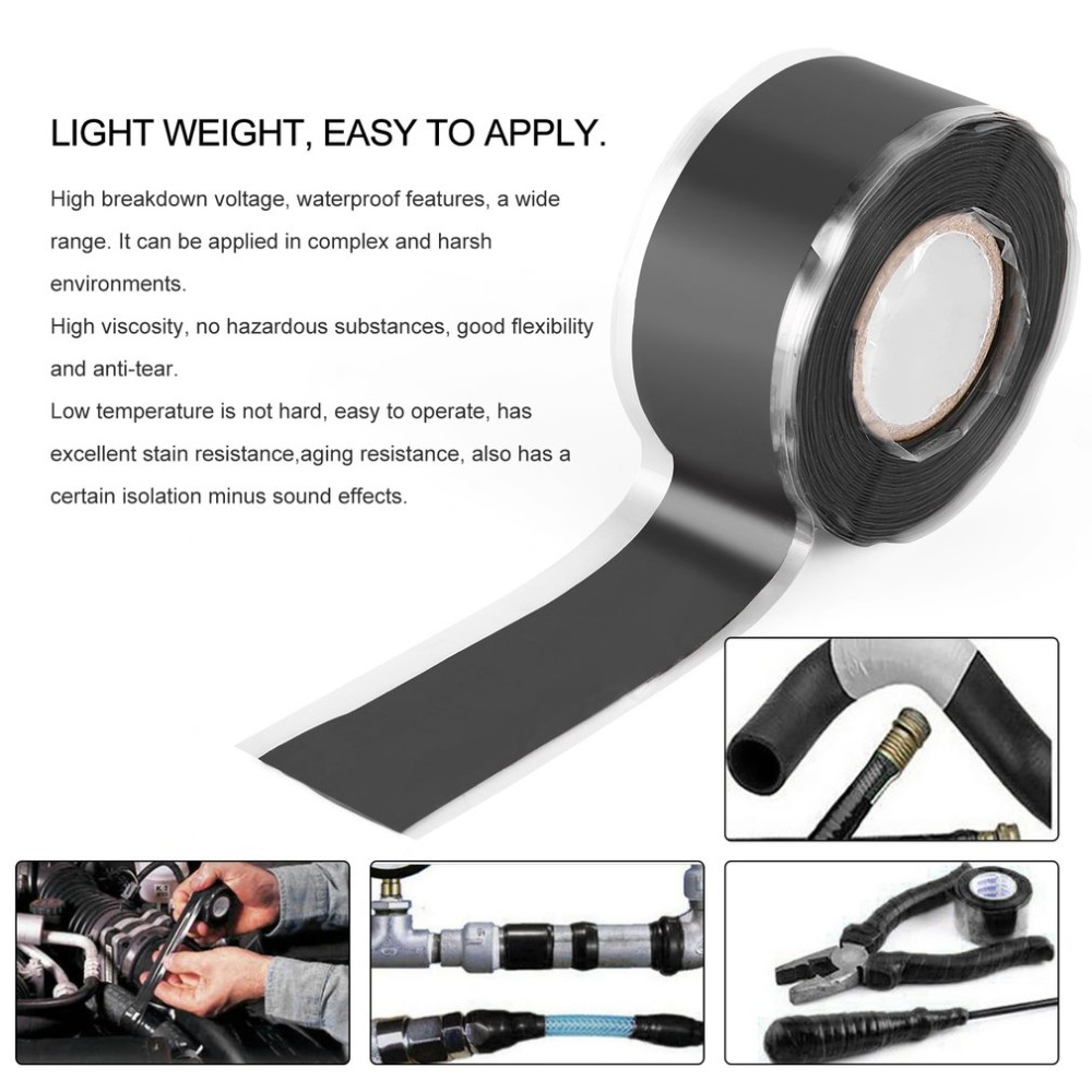 High Viscosity Self-adhesive Tape Self-fluxed Silicone Band Garden Water Pipe Repair Tape Seal Tape Silicone Tool