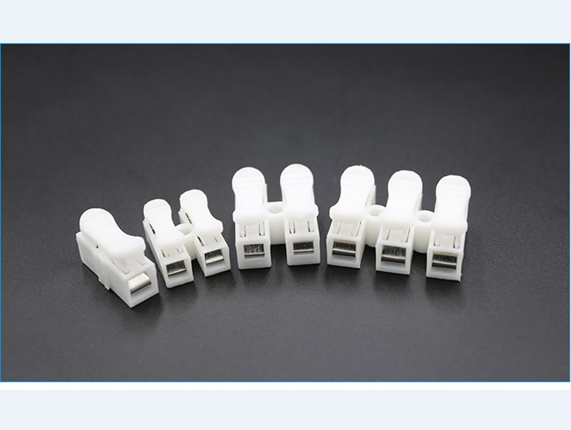 10PCS Electrical Cable Connectors Quick Splice Lock Wire Terminals Self Locking