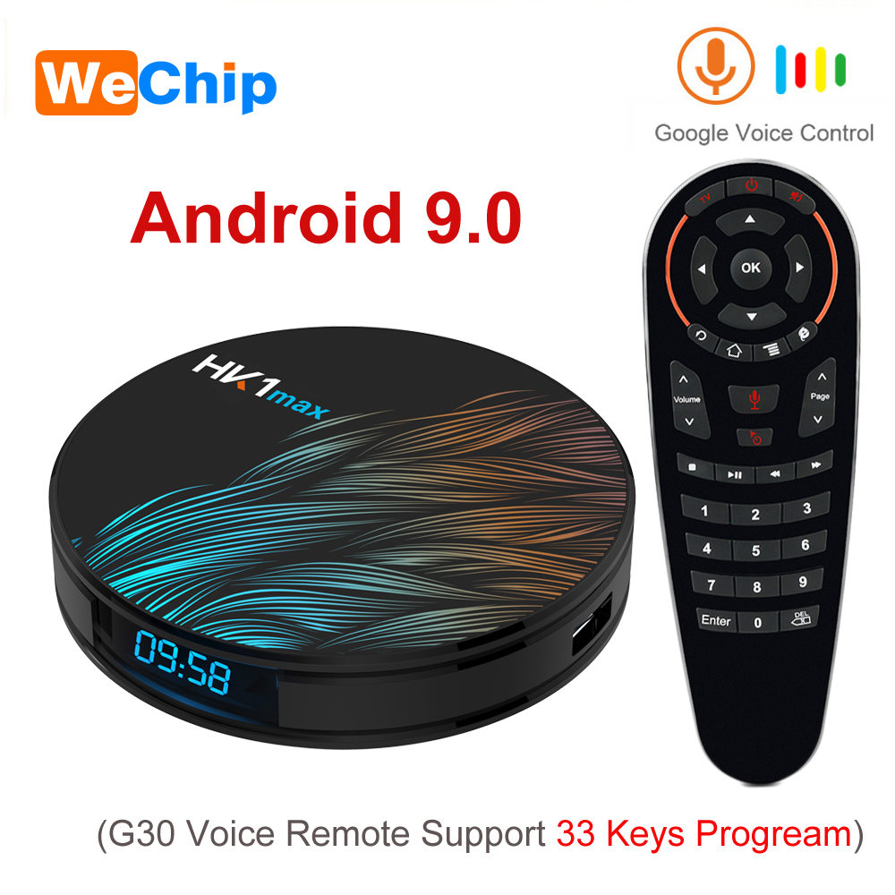 Tv-Box Media-Player RK3318 HK1MAX Smart Android Hdtv-Set Wifi 2GB16GB with 4GB Google-assistant/2gb16gb/Hk1max/Wifi