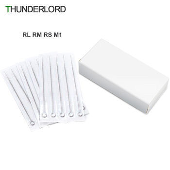 Tattoo Needles 10/20pcs RL RS M1 RM Mix Disposable Needle For Coil tattoo machine - discount item  30% OFF Tattoo & Body Art