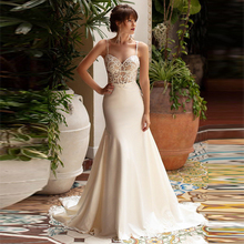 Verngo Mermaid Wedding Dress Lace Appliques Gowns Elegant Bride 2020 China Vestido De Casamento
