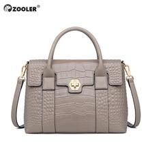 Brand Genuine Cow Leather Handbags Female Shoulder bag designer Luxury Women Tote Black Elegant Zipper Handbag for Ladies#WG223 стоимость