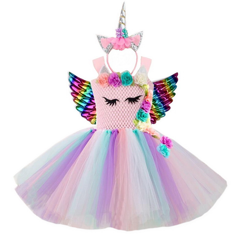 Ladies Rainbow Unicorn Animal Hairband Headband Festival Fancy Dress Costume