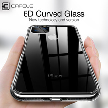 Cafele TPU transparent Phone Case for iPhone 11 Pro Max Crystal Clear soft Cover iphone Anti-fingerprint