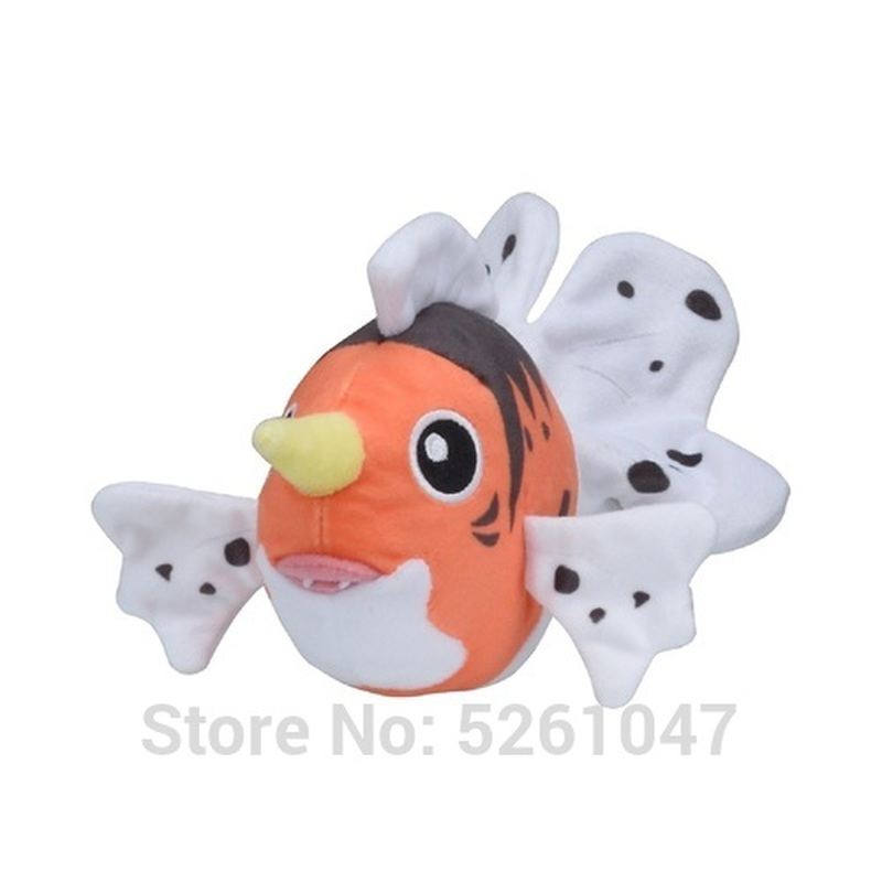 Original Pocket Monster Seaking Plush Doll Stuffed Toy Cute Figure 14cm Small Kid Gift