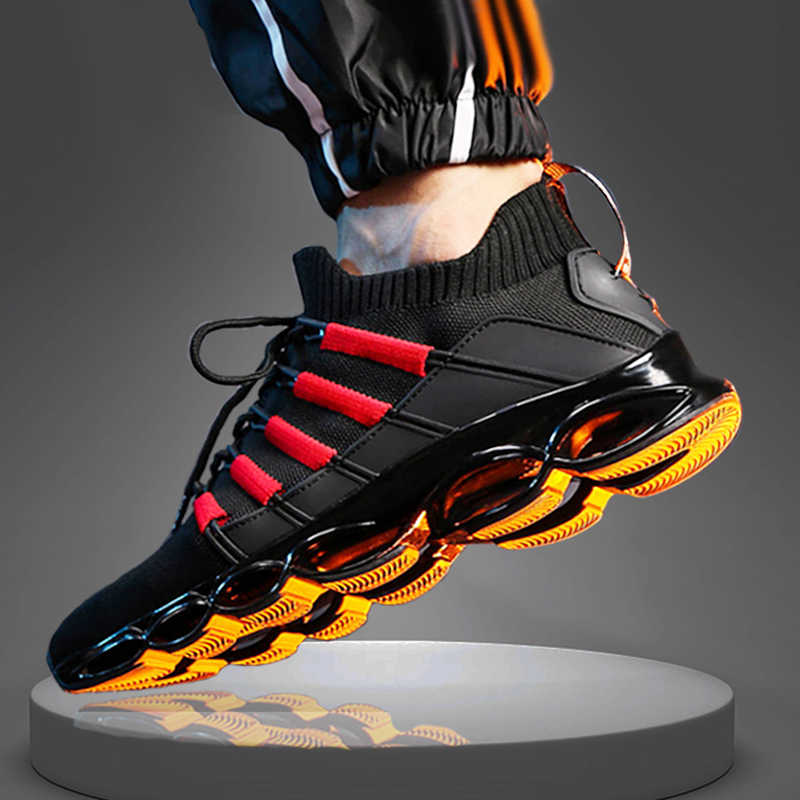 Breathable Blade Running Shoes 48 Men's New Sports Shoes 47 Large Size Sneakers 45 Fashion Walking Jogging Casual Shoes 46