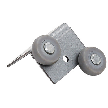 New Wardrobe Moving Door Buffer wheel roller for Wardrobe Silence Buffer Damper Cubicle Push-pull Door Pulley Excellent Quality image