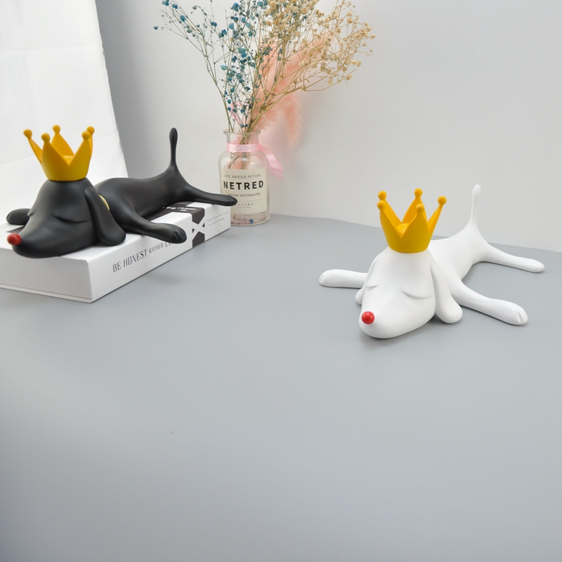 Yoshitomo Nara Dreaming Dog Resin Table Piece Home Decoration Accessories House Decor   Animal Sulpture