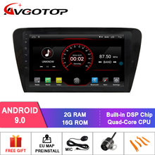 AVGOTOP Android 9 Bluetooth GPS Car Radio DVD Player For VOLKSWAGEN SKODA OCTAVIA 201(China)