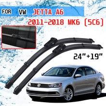 Balais dessuie glace avant, accessoires pour voiture, pour Volkswagen Jetta A6 5C6 Mk6 6 2011 2012 2013 2014 2015 2016 2017 2018
