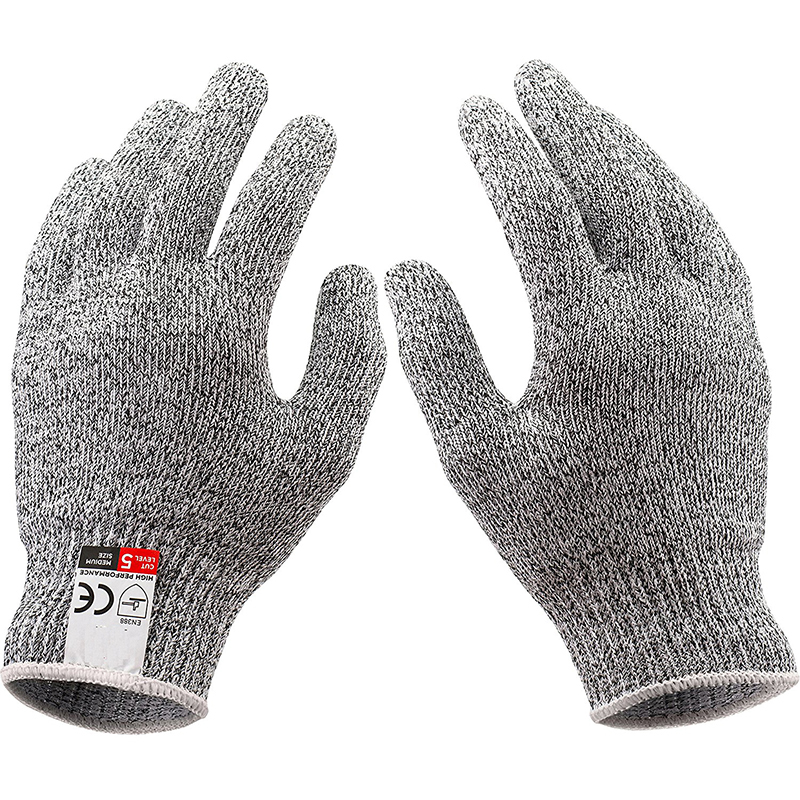 HPPE Anti-cutting Gloves Level 5 Food Kitchen Slaughterhouse Gel Anti-puncture Outdoor