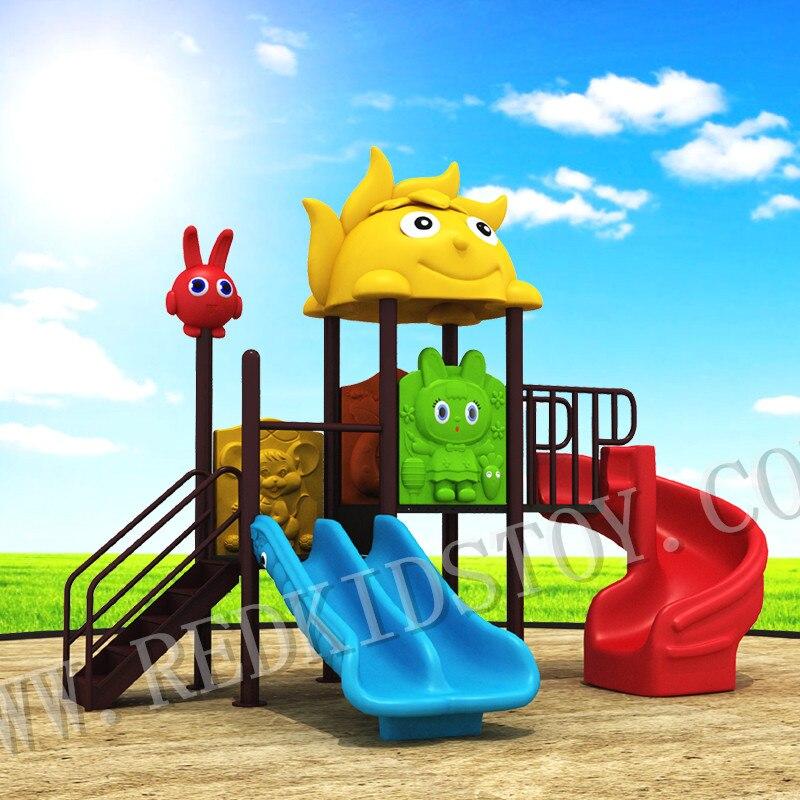50mm Square Pole Lovely Park Playground for Kindergarten HZ-17101