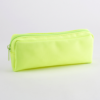 Zipper pen bag large capacity simple ins female small fresh stationery box student stationery bag boys and girls pen bag simple camouflage pencil case small fresh large capacity pen box student student stationery bag pencil bag orange