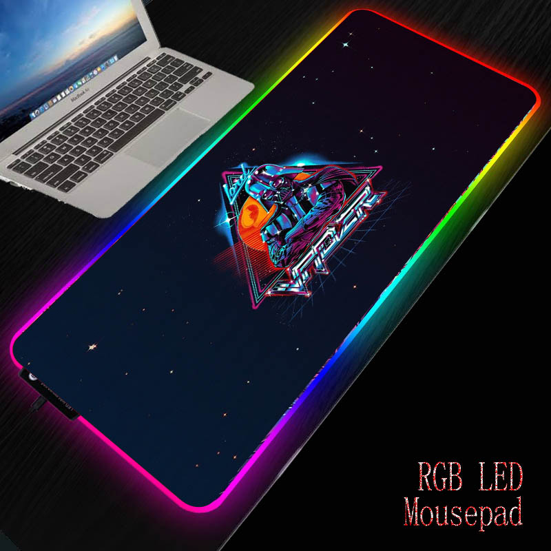 MRGBEST Star Wars Computer Mouse Pad Large Mouse Mat Big Desk Mat Non-Slip Rubber Base Mousepad for Laptop PC Game Waterproof image