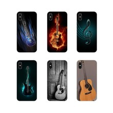For Samsung Galaxy S3 S4 S5 Mini S6 S7 Edge S8 S9 S10 Lite Plus Note 4 5 8 9 Transparent TPU Shell Case Love Gibson Guitar Music(China)