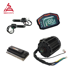 QS Motor Kit 7500W QS138 90H Mid Drive Motor With EM200P Controller Powertrain for Offroad Dirtbike Adult Electric Motorcycle