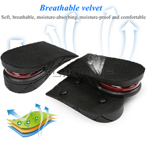 Image 4 - KOTLIKOFF Invisible Height Increase Insole Adjustable 2 Layer 3CM/4.5CM Air Cushion Pads Elevator Soles Insoles inserts For Shoe