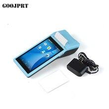 JP-Q2 pos terminal pda com sistema sem fio bluetooth & wifi android com impressora térmica embutido e scanner de código de barras