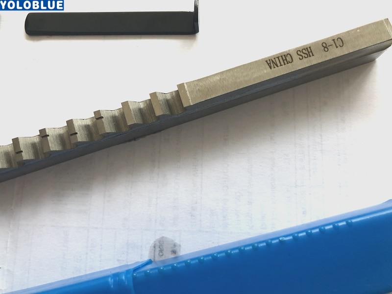 8mm C Push-Type Keyway Broach metric size CNC Machine Tool New