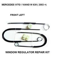 Para mercedes vito/viano w 639 kit de reparação de regulador de janela frente esquerda a partir de 2003|window regulator repair kit|window regulator repair|window kit -