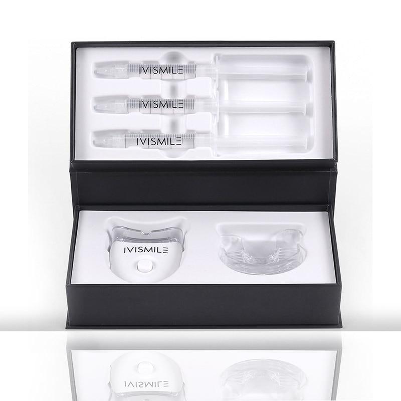 Image 2 - dental teeth whitening light led  Blue Laser 35%CP Peroxide Dental Bleaching System Oral Gel Set  dental instrumentsTeeth Whitening   -