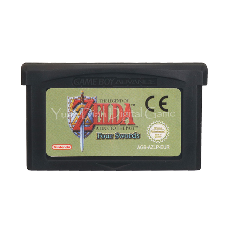 For Nintendo GBA Video Game Cartridge Console Card Zeld A Link To The Past Four Swords ENG/FRA/DEU/ESP/ITA Language EU Version