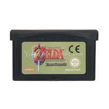 Für Nintendo GBA Video Spiel Patrone Konsole Karte Zeld EIN Link Auf Die Letzten Vier Schwerter ENG/FRA/ DEU/ESP/ITA Sprache EU Version