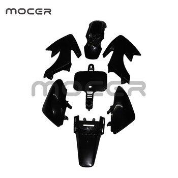 Carenado guardabarros de plástico Kit de cuerpo para Honda XR50 CRF50 pozo de la bici de la suciedad SSR Thumpstar YCF Stomp Coolster Pitsterpro 50cc-160cc