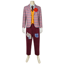 2019 Joker Origin Movie Cosplay Arthur Fleck Costume Plazer Batman Uniform Jacket Halloween Adult Men Outfit Custom Made