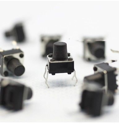 30 Pieces Of Micro Switch Buttons 6 * 6 * 7mm Electronic Product Accessories Capacitor Plate Tantalum Capacitor