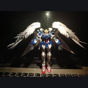 Image 5 - BANDAI RG 1/144 Collection STRIKE FREEDOM GUNDAM Gundam Astray JUSTICE GUNDAM Collection Action Toy Figures Christmas Gift