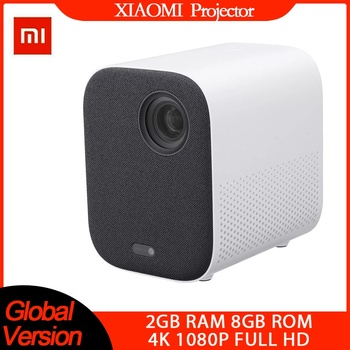 [Versión Global] xiaomi Mijia proyector 4k tv de la UE 3D AI 500ANSI 2 + 8GB Full HD 1080P 30000 LED Wifi bluetooth soporte de teatro