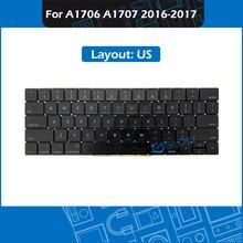 "Layout US For MacBook Pro Retina 13"" 15"" A1706 A1707 Keyboard US 2016 2017 MLL42 MPXQ2 MLH12 MPXV2 EMC 3071 EMC 3163 3072 3162"