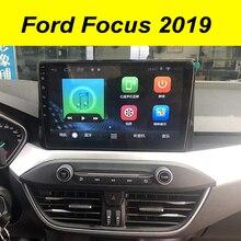 """64GB Android 10.0 2Din Đa Phương Tiện GPS Cho Xe Ford Focus 2019 9 """"Autoradio BT Điều Hướng Stereo Đầu Đơn Vị máy Ghi Âm Đài Phát Thanh"""