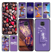 Силиконовый чехол с шоколадным молоком для Xiaomi Redmi Note 10 10S 9 9C 9S Pro Max 9T 8T 8 7 6 5 Pro 5A 4X 4, чехол для телефона