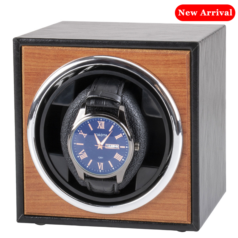 Watch Winder for automatic watches single Wooden Watch Accessories Box Watches Storage Luxury-1
