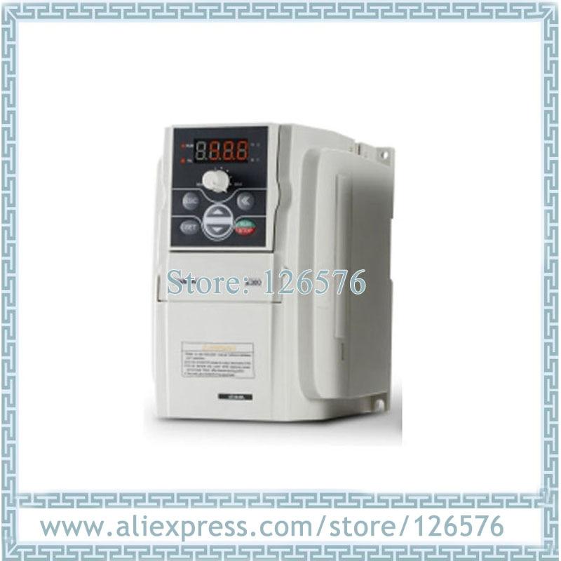 Inversor novo original da frequência de sunfar vfd do inversor E300-2S0015L 1.5kw ac220v 0-1000 hz para o motor do eixo