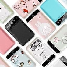 10000mAh Cartoon Power Bank For iPhone 11 Dual USB Mobile Ph