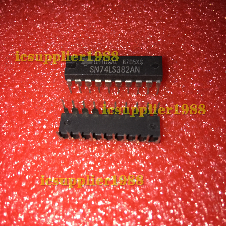 10pcs-20pcs/lot SN74LS382AN SN74LS382A 74LS382AN DIP20 Arithmetic Logic Unit 4-Bit 20-Pin PDIP NEW/ORIGINAL 20PCS/Tube