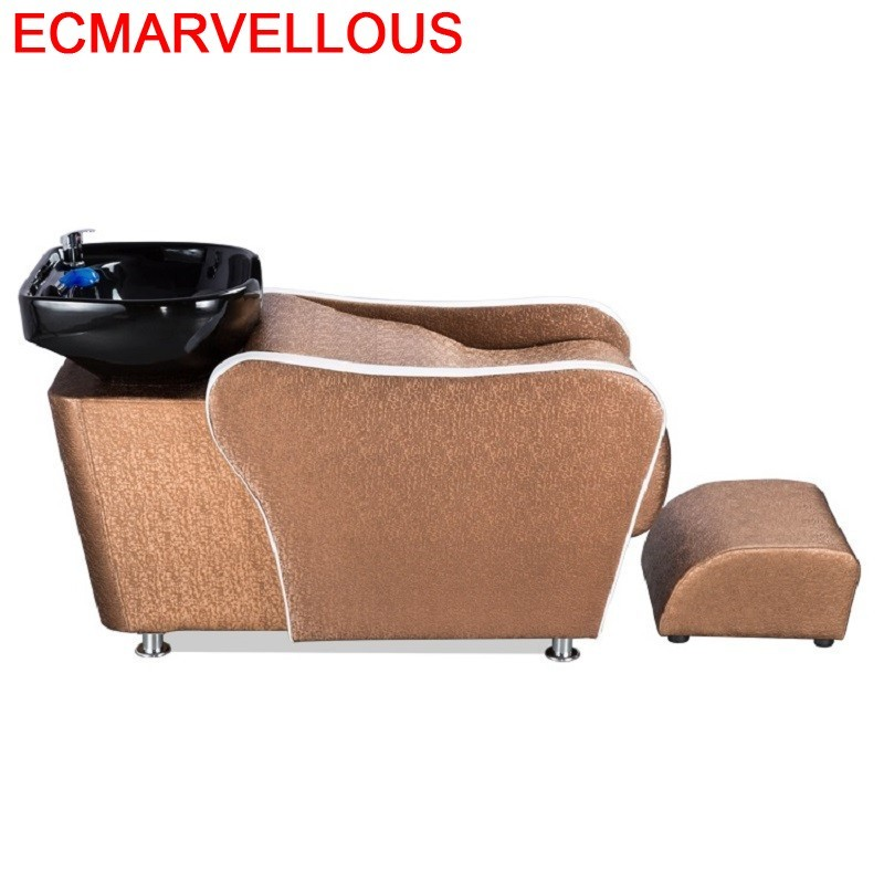 Bed Hairdresser For Barber Shop Lavacabezas Beauty Hair Furniture Cadeira Maquiagem Silla Peluqueria Salon Shampoo Chair