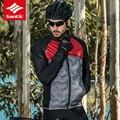 Мужские ветровки для велоспорта Santic  зимний пуховик из хлопка  сохраняющий тепло  для горного велосипеда  пальто  свитер с длинным рукавом  к...