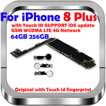 Gratuit iCloud Original pour iPhone 8 Plus carte mère avec ID tactile/sans carte logique didentification tactile pour iPhone 8 Plus MB avec puces