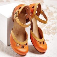 Women Shoes Sandals Summer Mid High Shoes