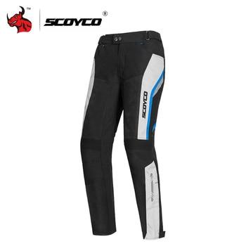 Clearance SCOYCO Motocross Pants Summer Motorcycle Pants Men Motocross Pantalon Moto Riding Pants With Protector#