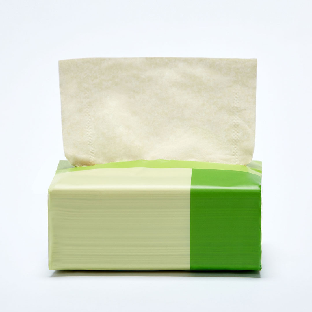 Mijia Youjia 24 Rolls Bamboo Fiber Tissue Bathroom Toilet Paper Absorbent Antibacterial Extractable Facial Tissue Health
