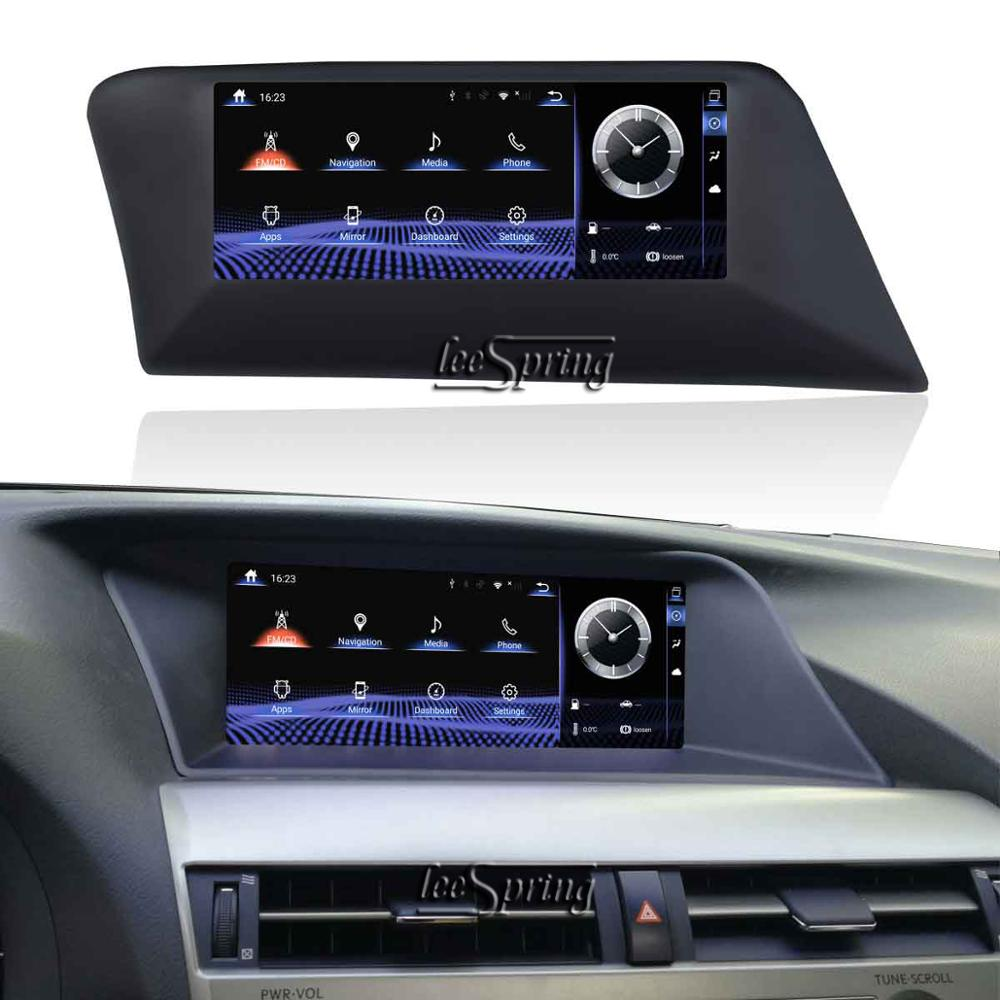10.25 inch Upgraded Original Car Screen multimedia Player for <font><b>LEXUS</b></font> RX 270/350/450(<font><b>2009</b></font>-2014 Original Car without Screen & Knob) image